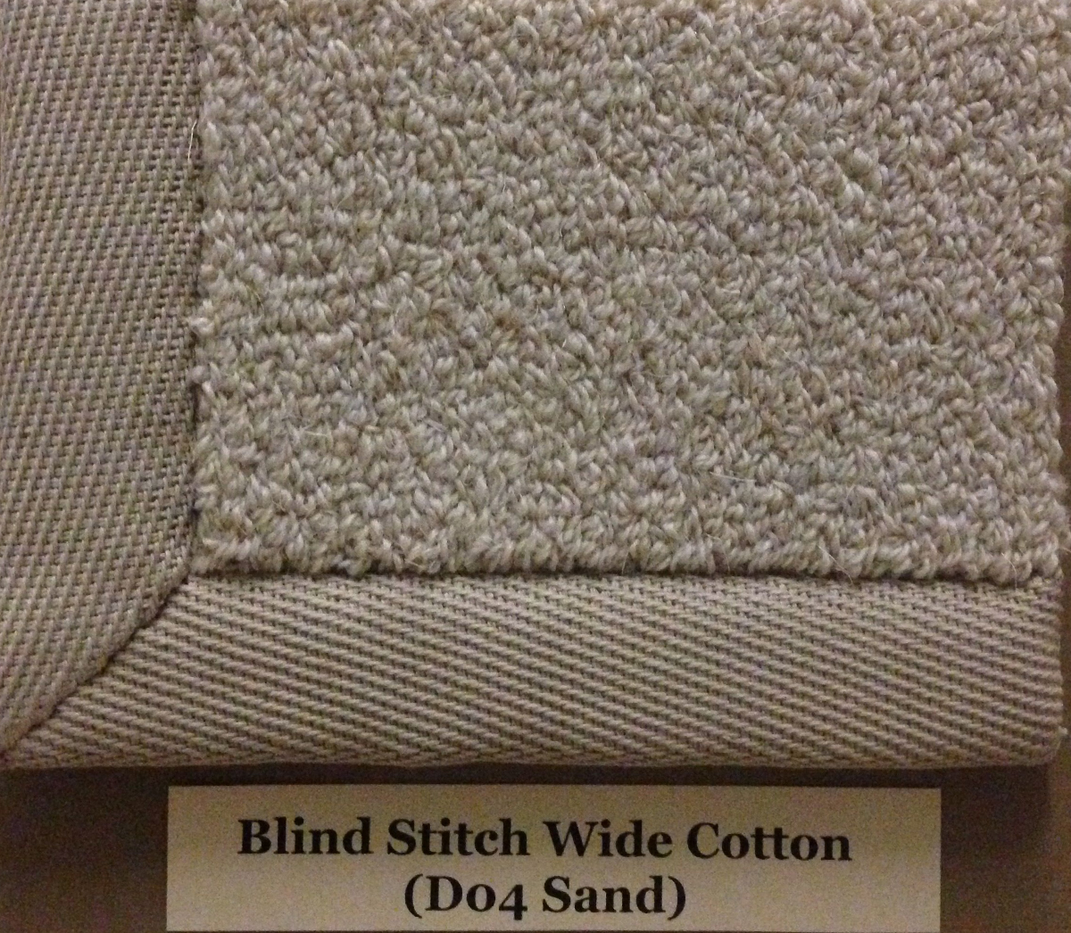 Blind Stitch Wide Cotton