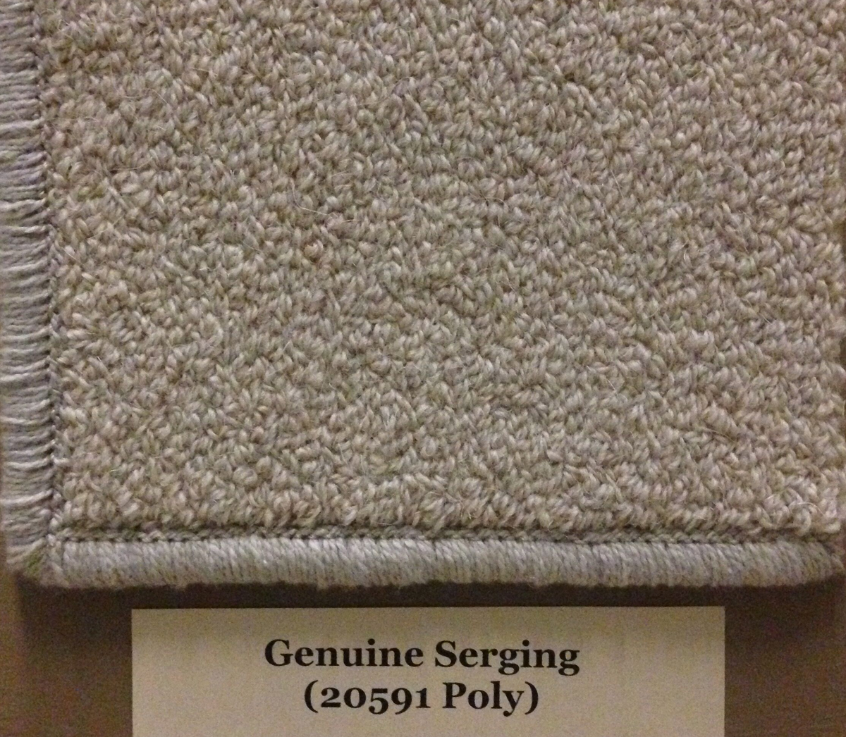 Genuine Serging